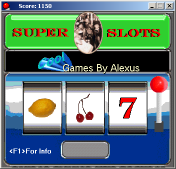 Slotmachine screenshot